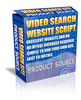 Thumbnail Video Search Website Script with MRR