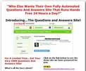 Thumbnail Turnkey Questions And Answers Site MRR