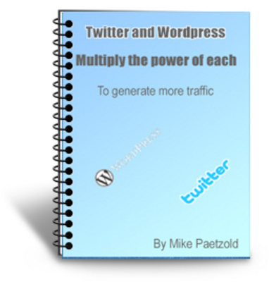 Product picture Twitter and WordPress With PLR