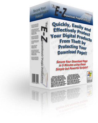 Product picture EZ Download Page Protector