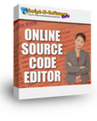 Product picture Online Source Code Editor - with MRR