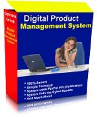 Product picture Digital Product Management System MRR