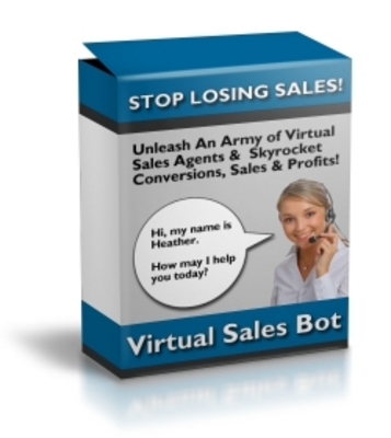 Product picture Virtual Sales Bot - Simple Interactive Exit Traffic Sales