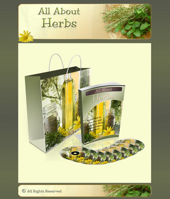 Product picture All About Herbs Mini Site