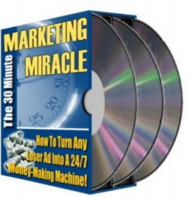 Product picture 30 Minute Marketing Miracle With MRR