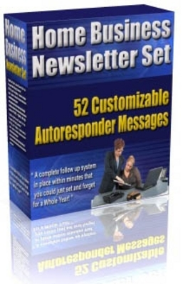 Product picture new* Home Business Newletter Set with MRR