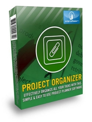 Product picture NEW  Project Organizer With Resale Rights