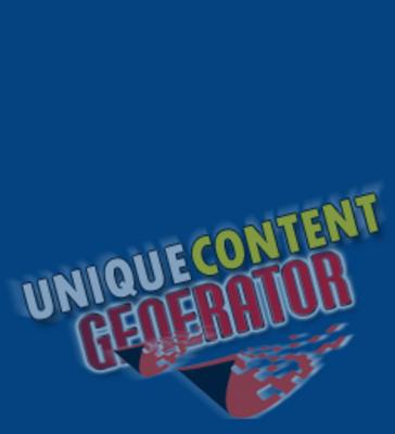 Product picture Unique Content Generator