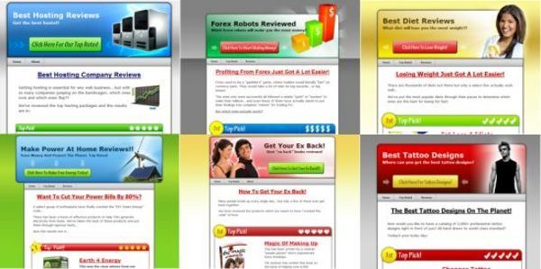 Product picture 6 Niche Wordpress Review Themes