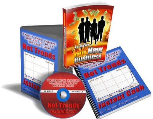 Product picture GOOGLE HOT TRENDS INSTANT CASH 10 VIDEOS + EBOOK with MRR
