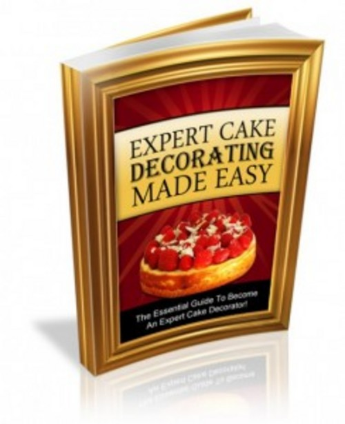 Product picture Cake Decorating ebook