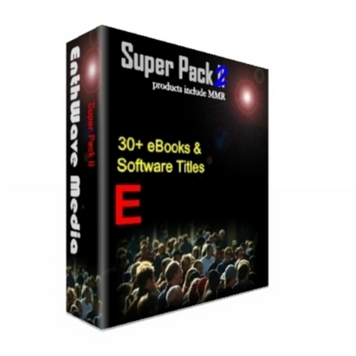 Product picture Super Reseller Pack 30 + ebooks Software with MRR
