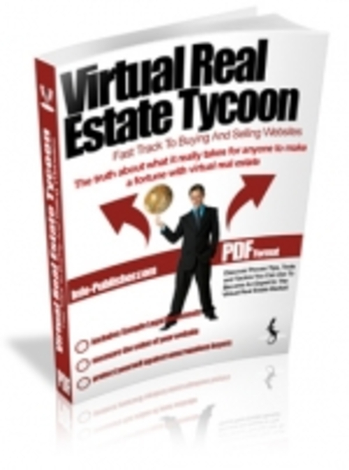 Product picture Virtual Real Estate Tycoon mrr