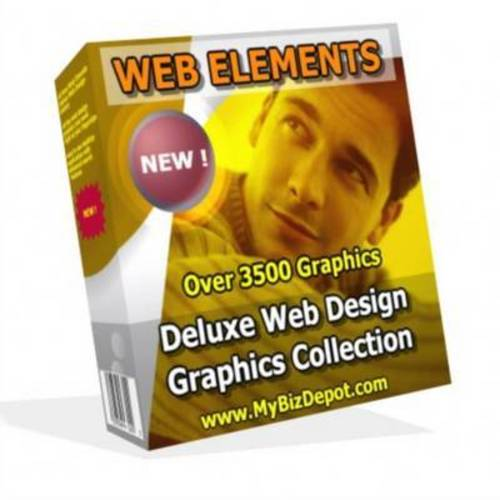 Product picture Web Elements Web Graphics Gallery 2 With MRR